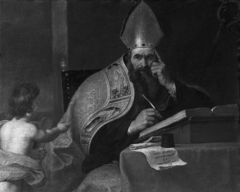 Attributed to Gerard Seghers – The Four Doctors of the Western Church: Saint Augustine of Hippo