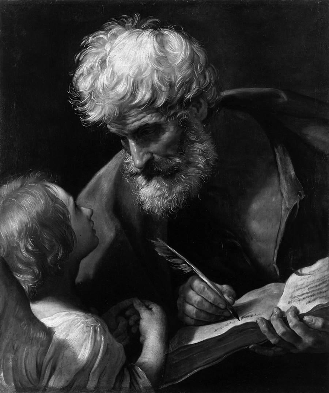 Guido Reni – Saint Matthew and the Angel