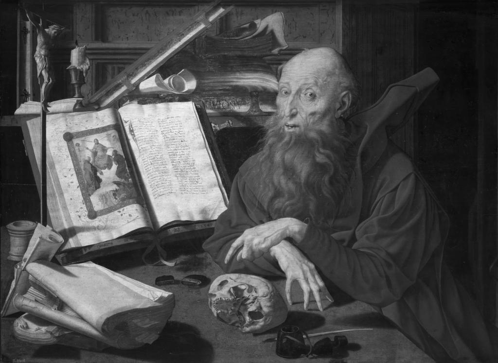 Marinus van Reymerswaele – Saint Jerome