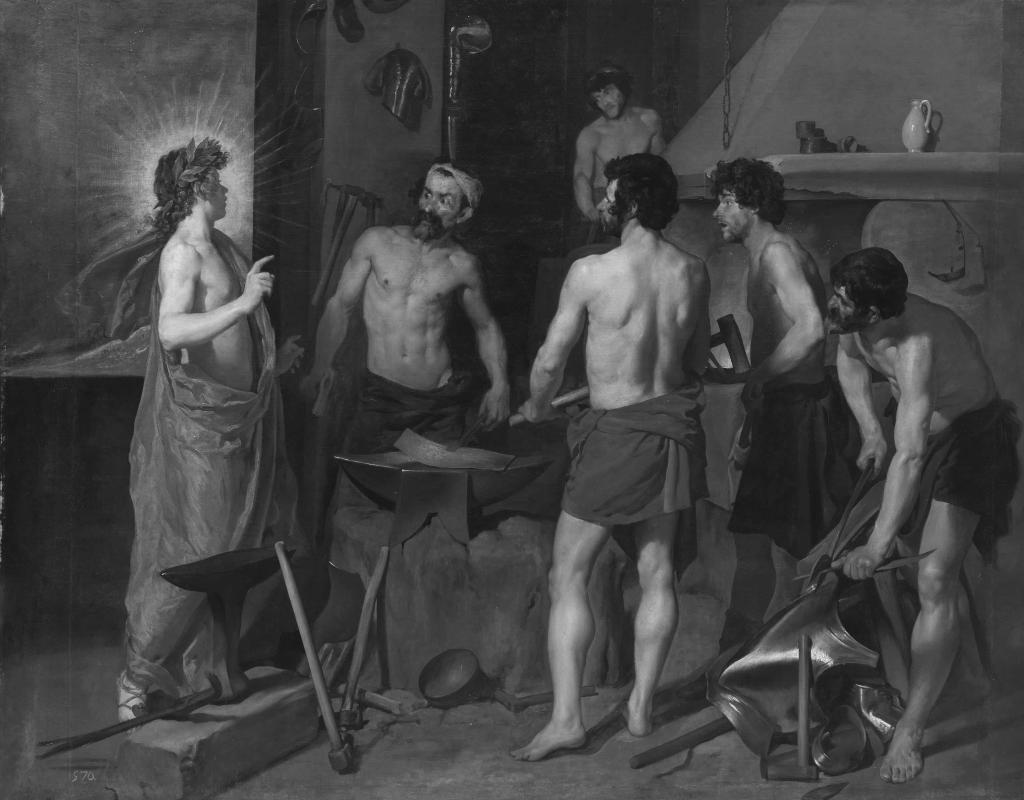 Diego Rodríguez de Silva y Velázquez – Vulcan's Forge